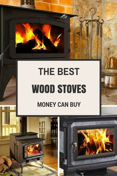 Wood stoves are a great option for heating a home or cabin. Here are some of the best rated fireplaces to consider. Foyers, Lofts, Cabana, Cooking Stove, Fire Cooking, Stove Fireplace, Fireplace Ideas, Pellet Stove, Kitchen Stove