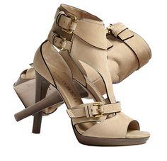 Burberry Shoes Kenley Soft Aviator Platform Sandal