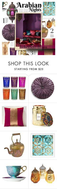 """2018 – Winter Homes"" by foolsuk ❤ liked on Polyvore featuring interior, interiors, interior design, home, home decor, interior decorating, Voluspa and Quail Ceramics"