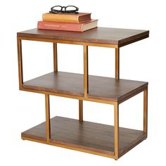 BuyContent by Terence Conran Metal Balance Side Table, Brown Online at johnlewis.com