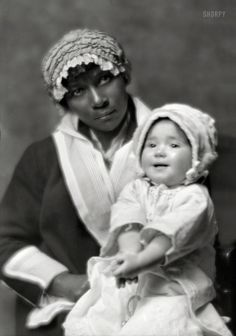The Caregiver Nov. 18, 1914. Little Frances Creel, daughter of the writer George Creel and actress Blanche Bates,