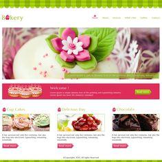 Creative Cakes Bakery PSD - Mojo Themes #design #webdesign ...
