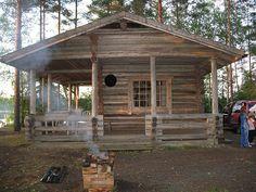 Cabin in Finland by Jon Barbour, via Flickr