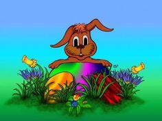 'Osterhase' von artkszp bei artflakes.com als Poster oder Kunstdruck $16.63