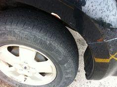 Driver side Rear wheel well