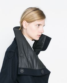 ZARA - WOMAN - JACKET WITH HIGH COLLAR