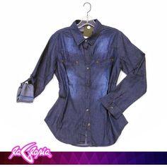 Encuentra #Prendas #Denim de nuestras marcas exclusivas #Camisas #Damas #Juvenil 2do.Piso