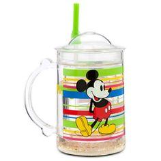 Mickey Mouse Tumbler Mug with Straw