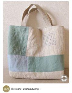 """Képtalálat a következőre: """"vintage linen bags"""" Patchwork Bags, Quilted Bag, Japanese Knot Bag, Craft Bags, Linen Bag, Fabric Bags, Fabric Basket, Kids Bags, Cloth Bags"""