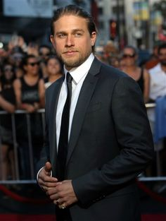 """Charlie Hunnam famously turned down the role of Christian Grey in """"Fifty Shades of Grey"""" after initially accepting it -- and women everywhere were devastated (at least until Jamie Dornan took Charlie's place). At the time, Charlie blamed a full workload as his reason for dropping out, since he was finishing up """"Sons of Anarchy"""" and also had to shoot """"Crimson Peak."""""""