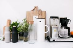 kitchen wares | cutting boards, sweet modern ceramics, adorable small appliances #LGLimitlessDesign #Contest