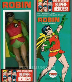 robin- The pose on the box cracks me up!