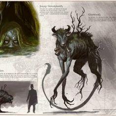Собирательное наименование демонических псовых в мифологии, фольклоре, фентези, играх