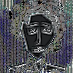 """Saatchi Art Artist Igor Bajenov; Collage, """"The anonymous LADY !- Limited Edition 1/10."""" #art"""