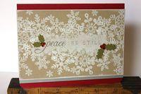 Papertrey Ink Snowflake Serenade stamp set.  Christmas