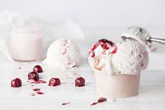 Panna Cotta, Ice Cream, Ethnic Recipes, Desserts, Food, Whipped Cream, Honey, Fruit Ice, Yogurt