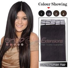 Tape Remy Hair Extensions