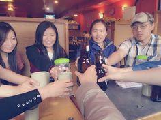 乾杯ー Cheers!!!!