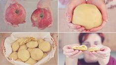 BISCOTTI CUOR DI MELA Ricetta Facile - APPLE FILLED COOKIES Easy Recipe