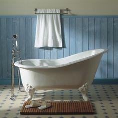 Herbeau Marie Louise Cast Iron Soaking Tub traditional bathtubs