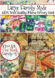 Affordable Meals To Cook Quick Meals To Make, Food To Make, Large Family Meals, Family Meal Planning, Grocery Haul, Healthy Groceries, Cheap Dinners, Cooking On A Budget, Cook At Home
