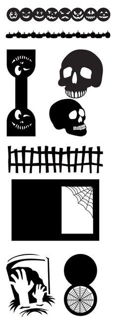 KLDezign les SVG: octobre 2012  free halloween svg files