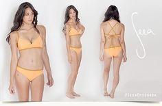 Seea Reversable Ensenada Bikini | Apricot