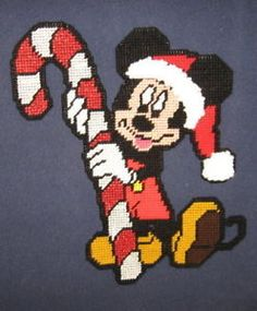 MICKEY MOUSE PLASTIC CANVAS PATTERN | 2000 Free Patterns