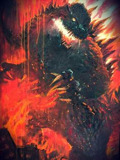 The Godzilla of your nightmares.... you're welcome.