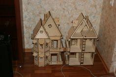 Конструктор Чудо-дом – купить или заказать в интернет-магазине на Ярмарке Мастеров   Кукольный домик c мебелью — это мечта любой…