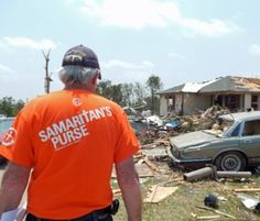 Would you like to help the recent tornado victims through someone other than the Red Cross? Samaritans purse is a great, responsible option!