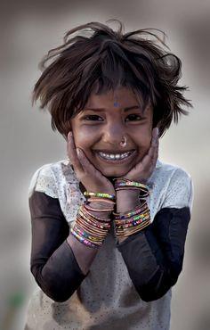 Small village Girl by sambitsingh.deviantart.com on @DeviantArt