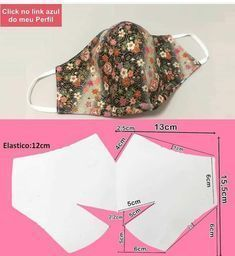 Bean Bag Sewing Pattern, Sewing Patterns Free, Sewing Tutorials, Sewing Hacks, Sewing Crafts, Diy Mask, Diy Face Mask, Masque Anti Pollution, Small Sewing Projects