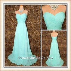 A-line Sweetheart Bridesmaids Dress Chiffon Bridesaids Dresses Cheap Bridesmaids Dress Prom Dress on Etsy, $80.00