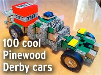 Lots of Pinewood Derby tips ... designs, how to paint it, making it fast, etc.