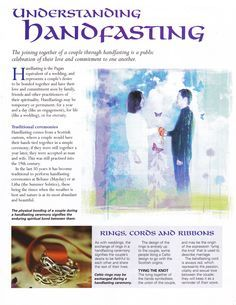 Brides Handfastings Weddings: Understanding #Handfasting. We had this done at the blessing of our marriage, I love this, its so cool.