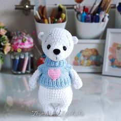 Amigurumi Doll Pattern, Amigurumi Toys, Softies, Plushies, Easy Crochet Patterns, Crochet Animals, Tinkerbell, Free Pattern, Hello Kitty