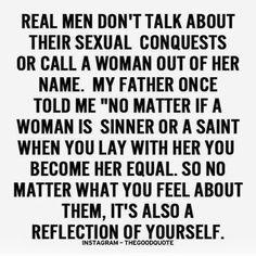 Real men..