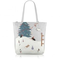 Winter Wonderland, Tote Bag - I LOVE this bag, but v expensive for something I could only use for a couple of months per year