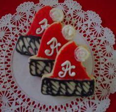 Alabama Santa hats! Roll Tide....