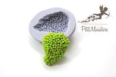 Stampo fimo silicone flessibile-Uva-Stampo di PetitMiniatures