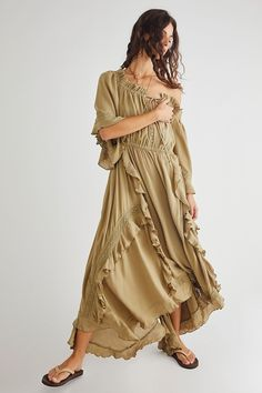 Beach Dresses, Casual Dresses, Maxi Dresses, Curly Willow, Strapless Maxi, Layered Skirt, Bridesmaid Dresses, Wedding Dresses, Free People Dress