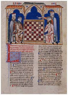 Alfonso X Book of Games. 42f