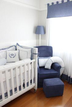 Quartos de menino azul marinho: escolhemos ambientes maravilhosos em azul marinho, para te inspirar com a decoração de quarto dos meninos! Vem ver!