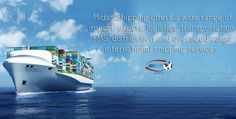 Midas Shipping offers a wide range of import, export, logistics, transportation, FMS, distribution and oversized cargo international shipping services. #shipping #Shipping #cargo #Airfreight #seafreight #logistics #parcel #car_shipping #freight #forwarding