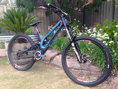 """Troy Brosnan's """"big girl in blue"""" #Specialized #bicycles"""