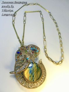 Large pendant Elephant necklace pendant with stone handmade Elephant Jewelry, Elephant Necklace, Elephant Gifts, Leaf Jewelry, Pendant Jewelry, Wire Jewelry, Handcrafted Jewelry, Unique Jewelry, Jewelry Gifts