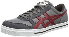 Asics Aaron, Unisex-Erwachsene Sneakers, Grau (light Grey/burgundy 1125), 42 EU - http://on-line-kaufen.de/asics/42-eu-asics-aaron-unisex-erwachsene-sneakers-2