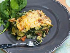 Spenótos-cukkinis-fokhagymás lasagne Recept képpel - Mindmegette.hu - Receptek