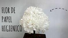 ARTESANATO:: FLOR DE PAPEL HIGIÊNICO - PASSO A PASSO! Post no blog: http://www.thaiscassimiro.com/2014/10/flor-de-papel-higienico-passo-passo.html ----------...